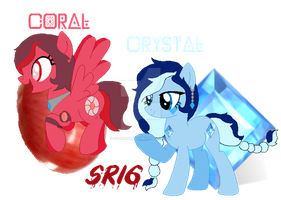 Coral and Crystal by SuperRosey16