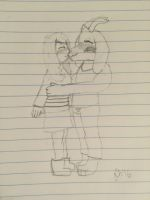 Friskriel Kiss by FriendlyHougen