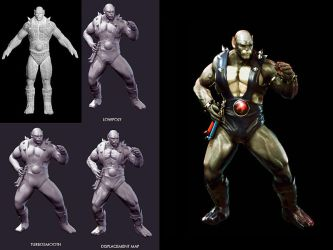 Panthro by cokecoco