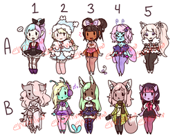 $5/500p Cheeb Adopts - 0/10 (closed!) by enoshlma