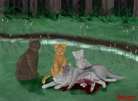 Silverstreams Death by Meow-mer