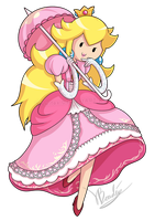 Adventure Time Peach by Luifex