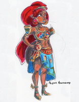 Lady Urbosa by little-ampharos