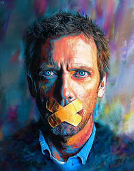 Hugh Laurie - Incurably Himself by NickyBarkla