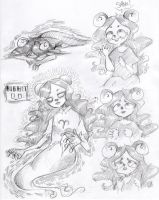aRADIA DOODLES,,, by ReadYourBook