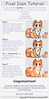 Simple Pixel Icon Tutorial by Gryshii