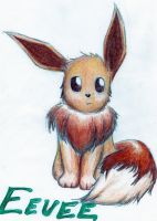 eevee - for yorunokatana by thepalefire