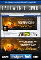 Free Facebook Timeline Template: Happy Halloween! by MGraphicDesign