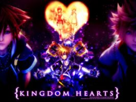 Kingdom Hearts II Wallpaper by ninatwinsanity
