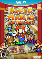 Paper Mario HD Trilogy by Fawfulthegreat64