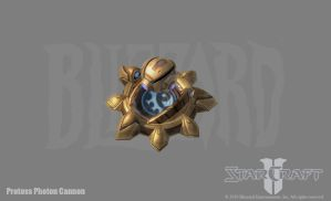 SC2: Protoss Photon Cannon by PhillGonzo