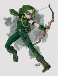 Green Arrow by KidNotorious
