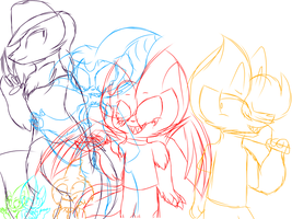 Halloween squad WIP by Perma-Fox
