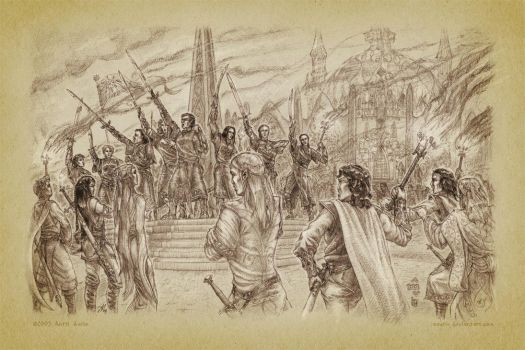 The Oath of Feanor by aautio