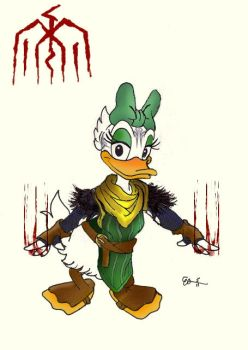 The Duckish Blood Mage by dragonheart