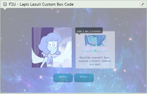 F2U Lapis Lazuli Custom Box Code by spaced---out