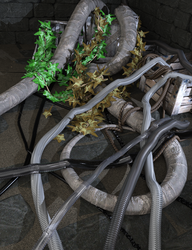 Sneak Prev: SY Ropes, Tubes and Vines Iray by SickleYield