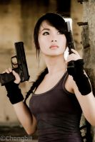 tomb raider Jane Frances Chiong by chongbit