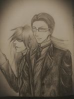 William and Grell by acrevan