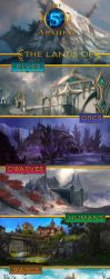 The 5 Armies: Environment by Shilozart