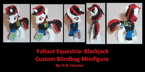 Custom Blindbag Blackjack of FE Project Horizons by Gryphyn-Bloodheart