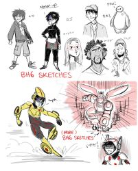 BH6 Sketches