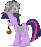 Twilight Sparkle - Sleuth Detective by TomFraggle