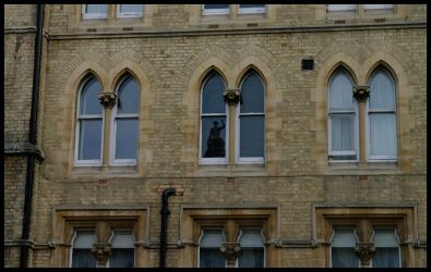 Lady in the Window by Grevola