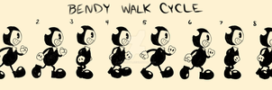 [CE] Bendy Walk Cycle by CassMutt