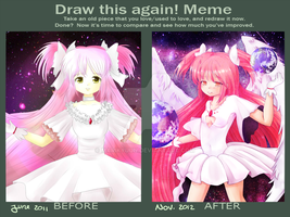 Madoka improvement memememe by marikyuun