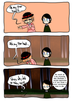 Ghost Eyes: Pt 1: Fall- pg 79 by MrCircusPapa