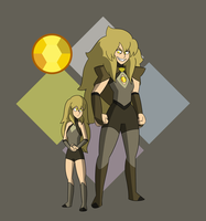 Citrine and Citrine by TheGraffitiSoul