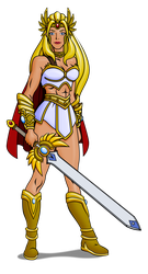 She-Ra Redesign Update by zentron