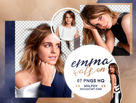 Pack png 133 // Emma Watson by mxlfoy