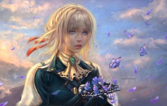 Violet Evergarden by TamikaProud