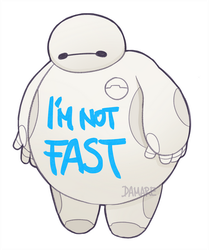I Am Not Fast by Damare