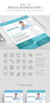 Medical Business Flyer Template 3 by survivorcz