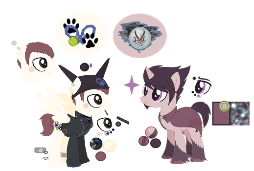 Ryoma Hoshi and Kaito Momota's Ref new by SuperRosey16