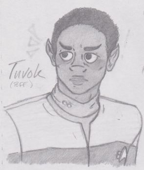 Tuvok by FindYourInnerLennon