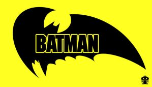 1986 Batman Comic Title Logo by TheDorkKnightReturns