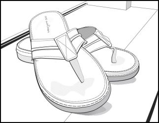 Vector Sandles by dustMights
