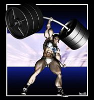 Lin's Lifting 1 by Stone by vince3