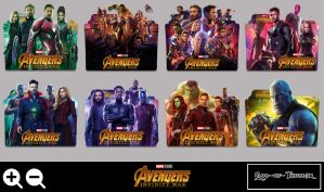 Infinity War folder icon by G0D-0F-THUND3R