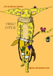 Coz/Hirro Zhpeir(redesign) by OgonoArtFamily