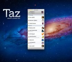 Taz - Contact List by pritthish