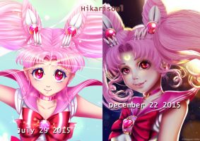IMPROVEMENT / TEASER : Sailor Chibi moon by Hikarisoul2