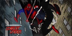Ultimate Comics: Scarlet Spider #3 Cover by spid3y916