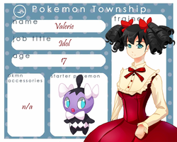 Pokemon Township: Valerie