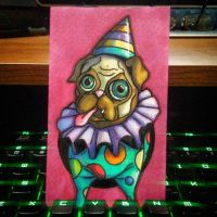 Party Pug by Pentoculus
