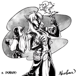 Inktober 03 - POISON by Cyclonante